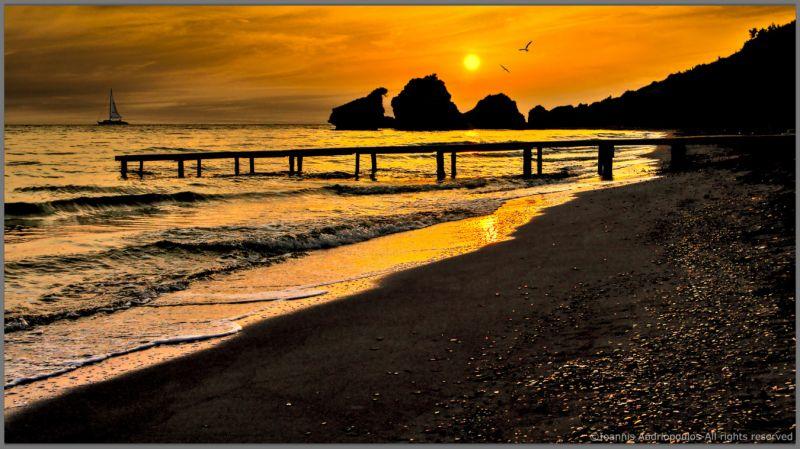 Golden Sunrise at Porto Zoro Zante