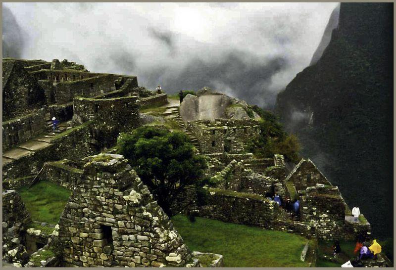 Rain in Machu Picchu