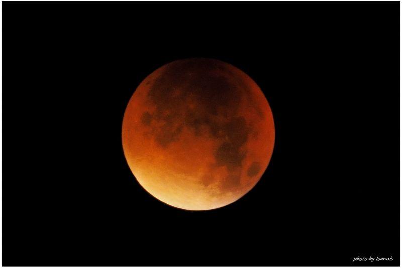 Red Lunar Eclipse