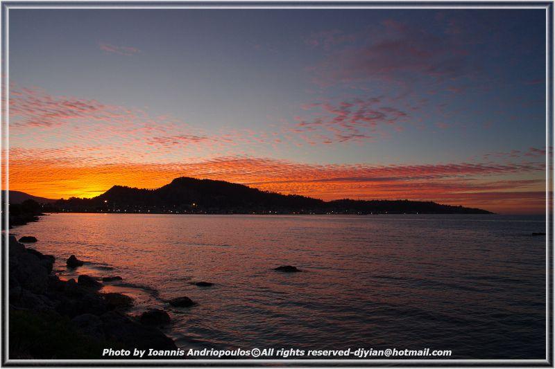 Sunset in Zakynthos