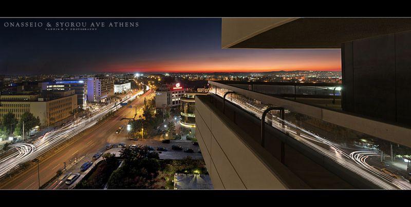 Onasseio & Sygrou Ave, Athens