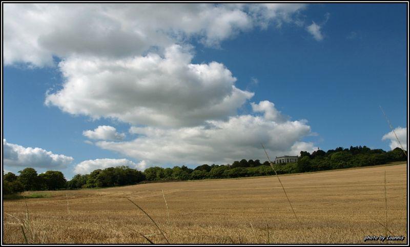 British sky on sunny day....