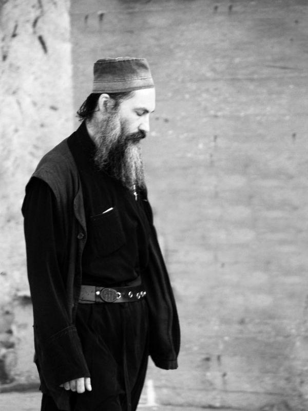 Monk Agion Oros