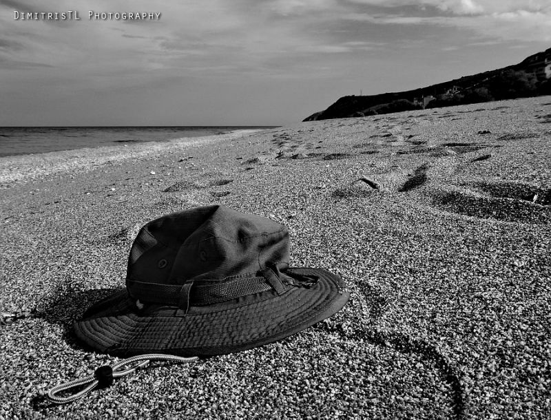 Hat in the beach