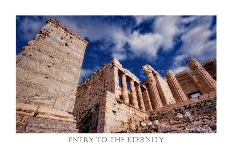 entry to the eternity